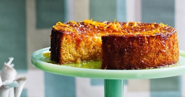 Gluten Free Persian Orange Almond Cake