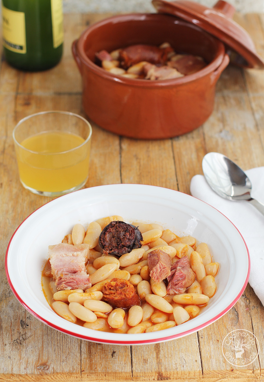 Como Cocinar Fabada | Como Hacer Fabada Asturiana Receta Paso A Paso Cocinando Entre Olivos