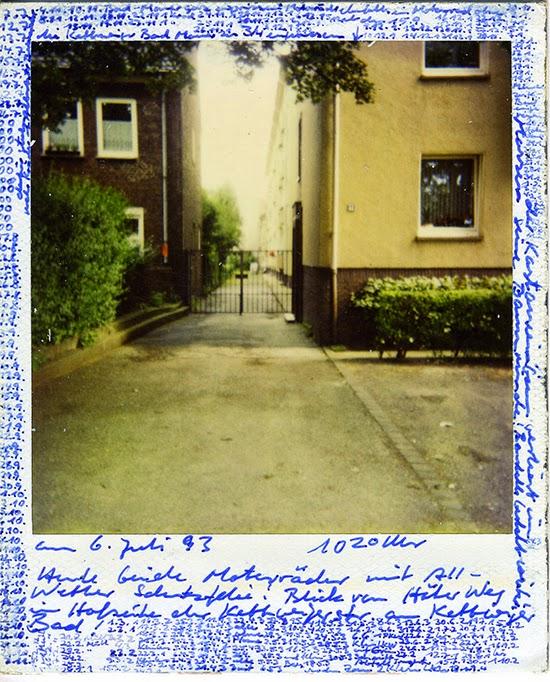 Horst Ademeit Untitled, 1993 Inscribed Polaroid 11 x 9 cm