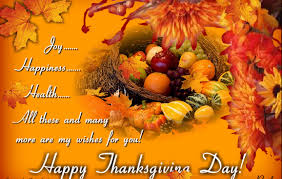 Thanksgiving sayings for friends/family