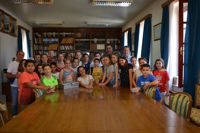 Μαθητές από το Δημοτικό Σχολείο Καρύστου στο Δημαρχείο Ναυπλίου