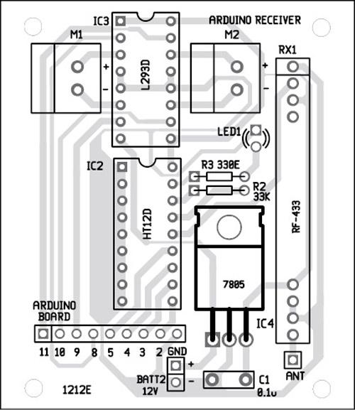 l293d pin layout