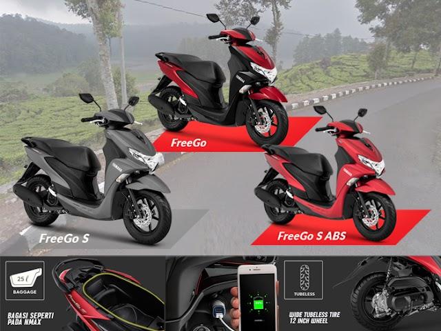 Yamaha FreeGo, Motor yang Andal dan Nyaman Buat Wisata Touring