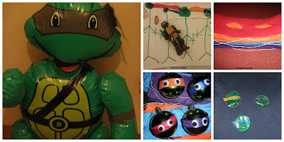 NINTZA TURTLES PARTY AND SOMETHING FOR CHRISTMAS