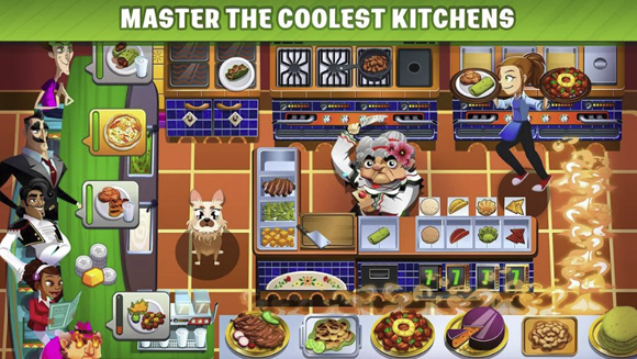 COOKING DASH Mod Apk Unlimited Money Tickets Terbaru