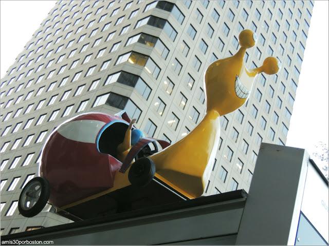 Escultura en Montreal, Canadá