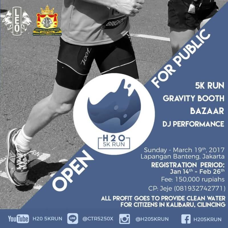 H20 5K Run • 2017