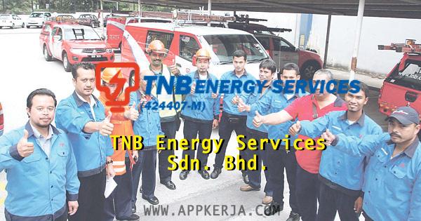 Jawatan kosong di TNB Energy Services Sdn. Bhd. - 12 April 2018