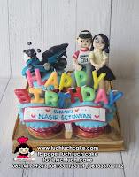 Cupcake Ulang Tahun Tema Motor
