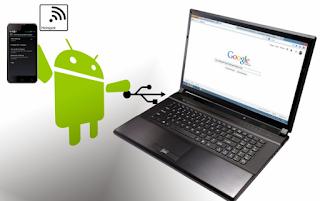 Cara Membuat Android Menjadi Modem