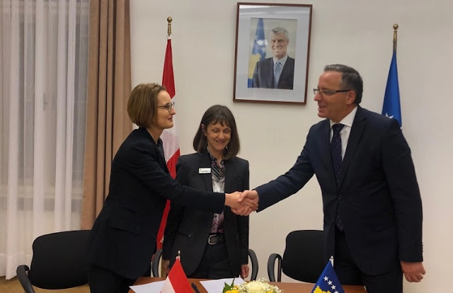 Kosovo and Austria sign four agreements on projects for drinking water and sewage treatment