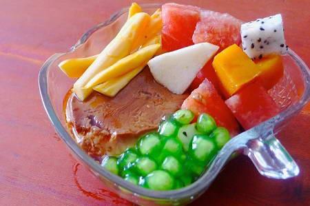 Cách làm caramen hoa quả