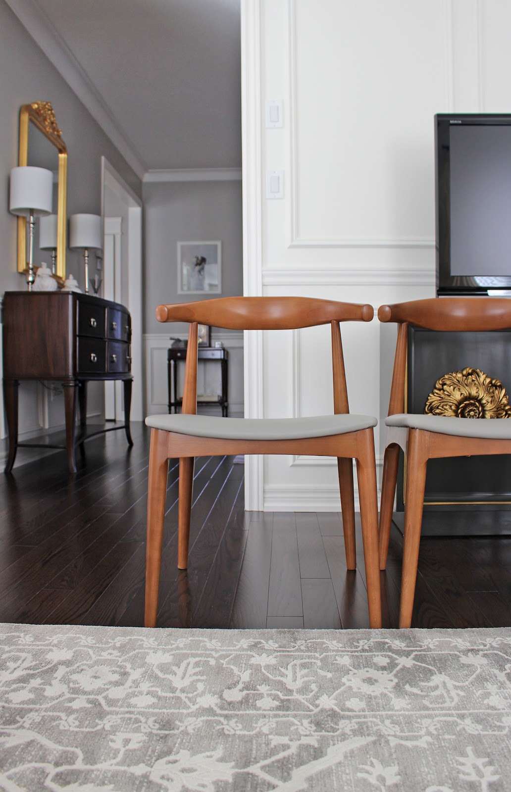 As for the dining table  I started the hunt with everything MCM and Danish   but then decided to go a more rustic yet still modern direction AM Dolce Vita  Cottage Life  Dining Room Design. Dining Room Chairs Homesense. Home Design Ideas
