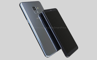 Samsung Galaxy A7 (2018) support page listed on official website
