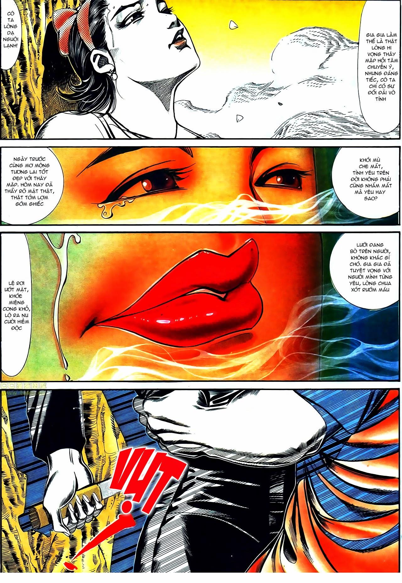 Người Trong Giang Hồ chapter 116: bình minh ló dạng ái tình tan vỡ trang 15