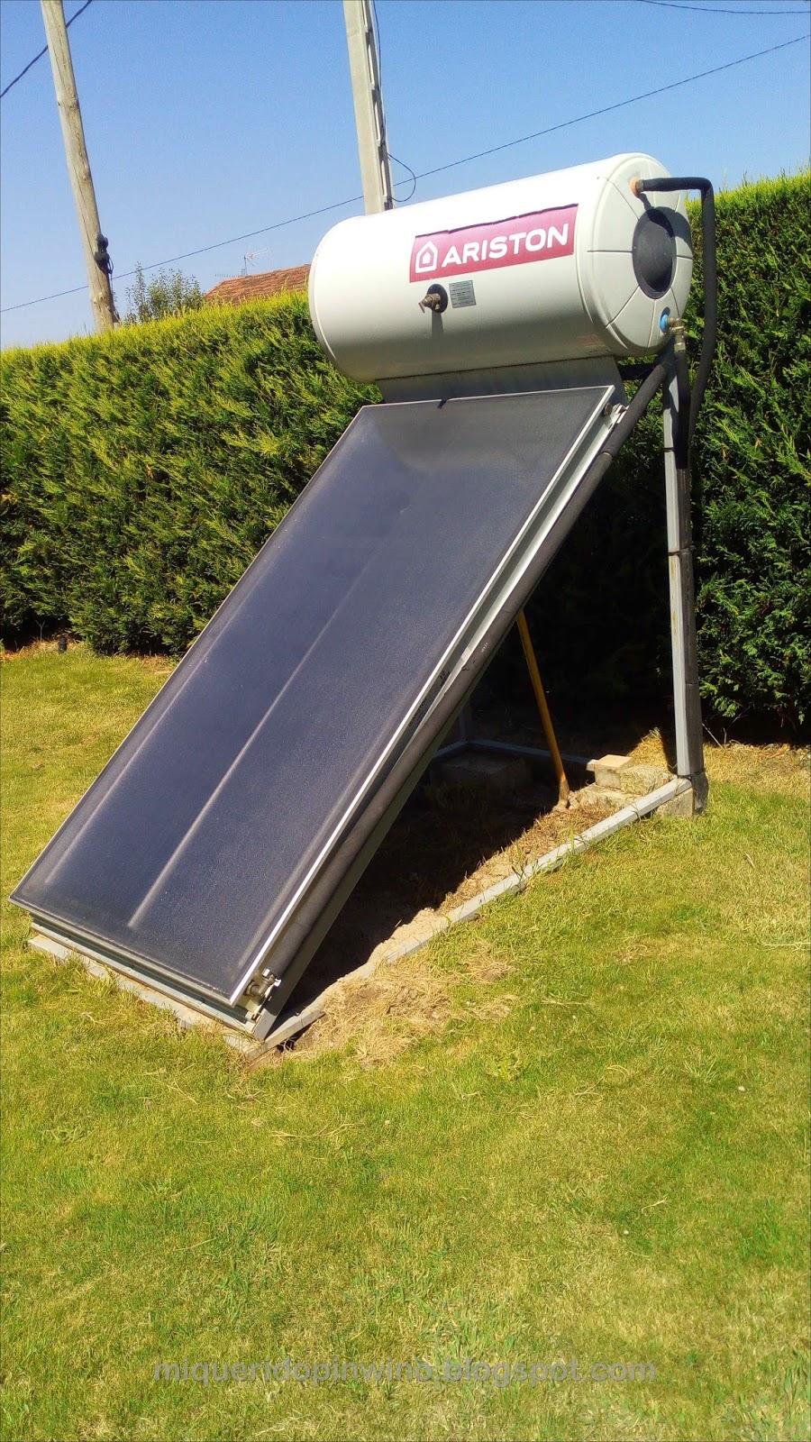 Tecnolog a para un progreso sostenible configuraci n de for Placas solares para calentar agua