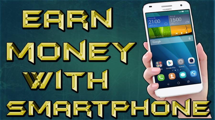 Mendapatkan penghasilan dari Internet dengan smartphone