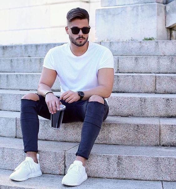 Macho Moda - Blog de Moda Masculina Looks Masculinos com Adidas NMD pra inspirar!