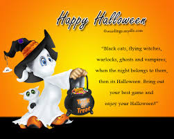 Halloween Greetings Cards And Clipart