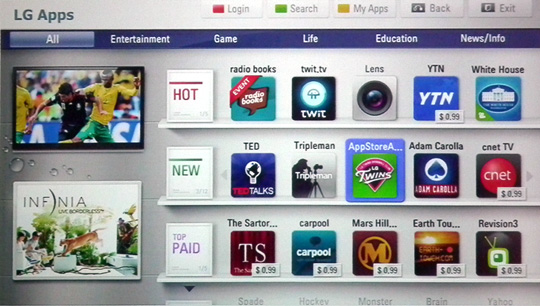 The 5 Best Smart TV Platforms of 2011 ~ UNDER CONSTRUCTION: Tech