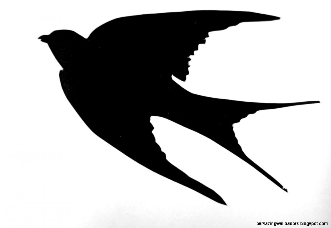 Flying bird silhouette stencils amazing wallpapers for Flying bird template printable