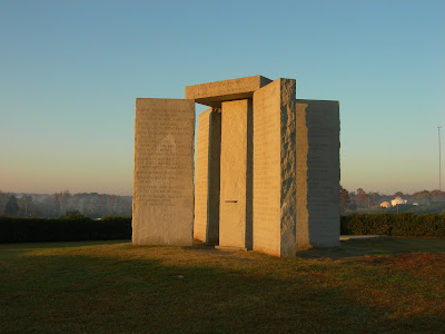 Georgia Guidestones - The Mysterious Monument to an Age of Reason - Disaster Prophecy