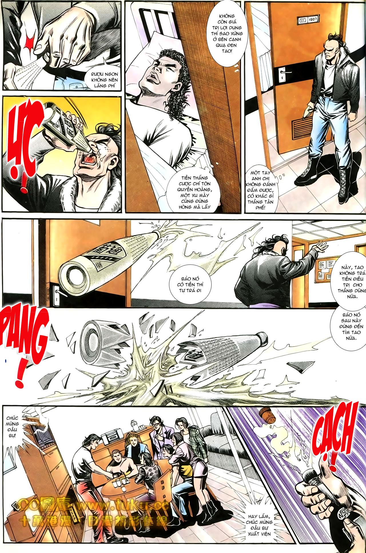 Người Trong Giang Hồ chapter 197: quạ đen báo thù trang 27