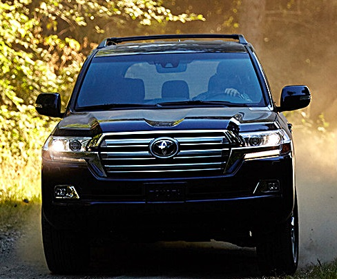 2017 Toyota Land Cruiser Luxury Suv Review And Specs