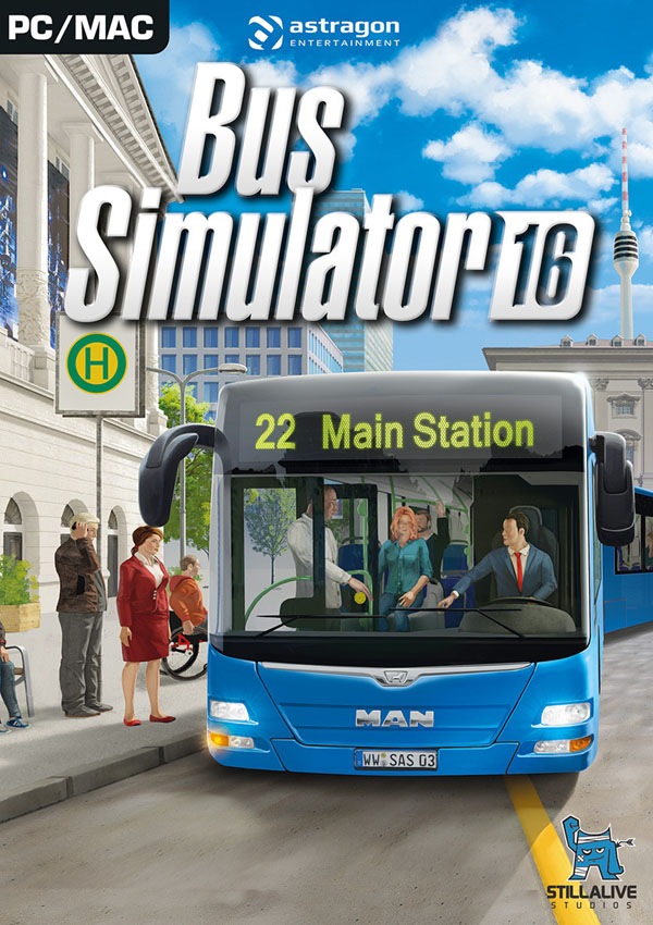 Bus Simulator 16 Download Cover Free Game