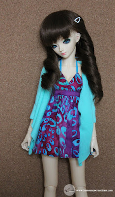 inEssence Creations - Minifee Halter Tank Dress and Butterfly Cardigan