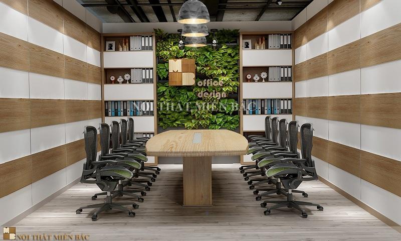 Thiết kế nội thất phòng họp không gian nhỏ