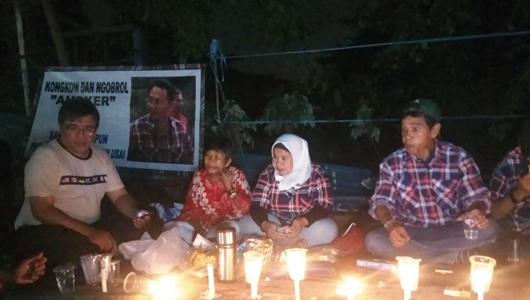 Sambut Ahok Bebas, Pendukung Nyalakan Lilin di Mako Brimob