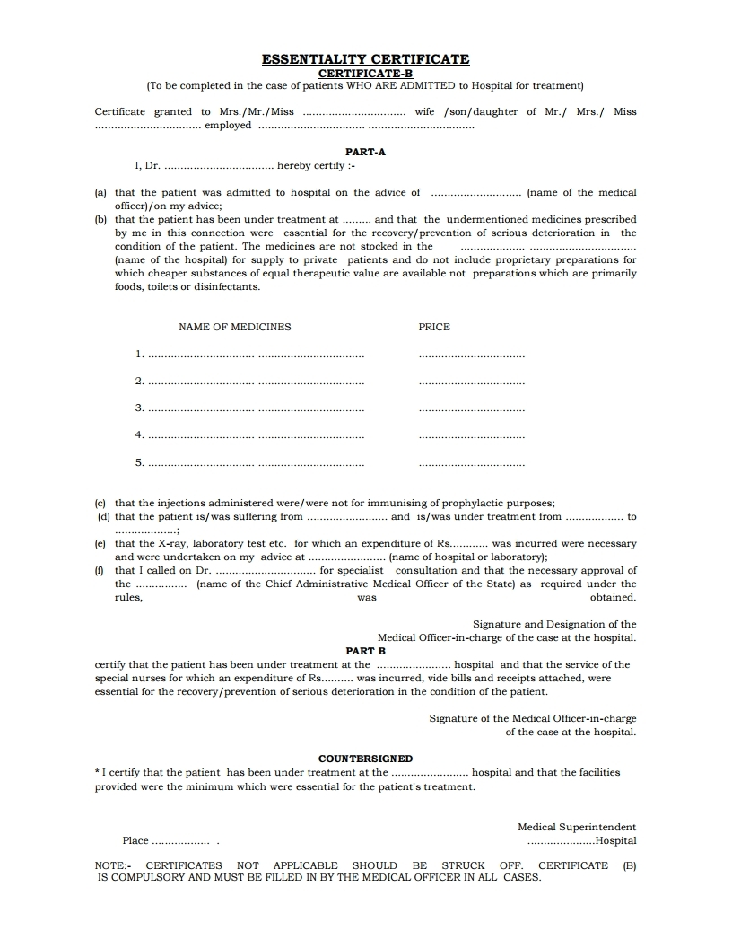 medical claims forms
