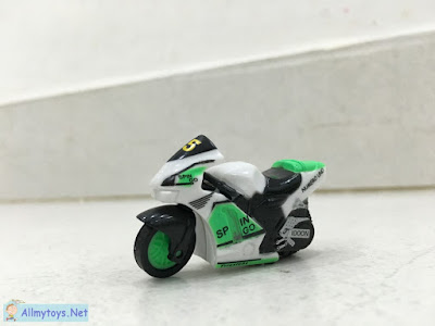 Spin-go mini toy motorbike