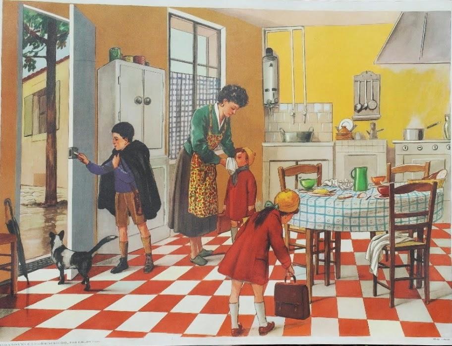 manuels anciens affiche avant de partir l 39 cole locution mdi. Black Bedroom Furniture Sets. Home Design Ideas