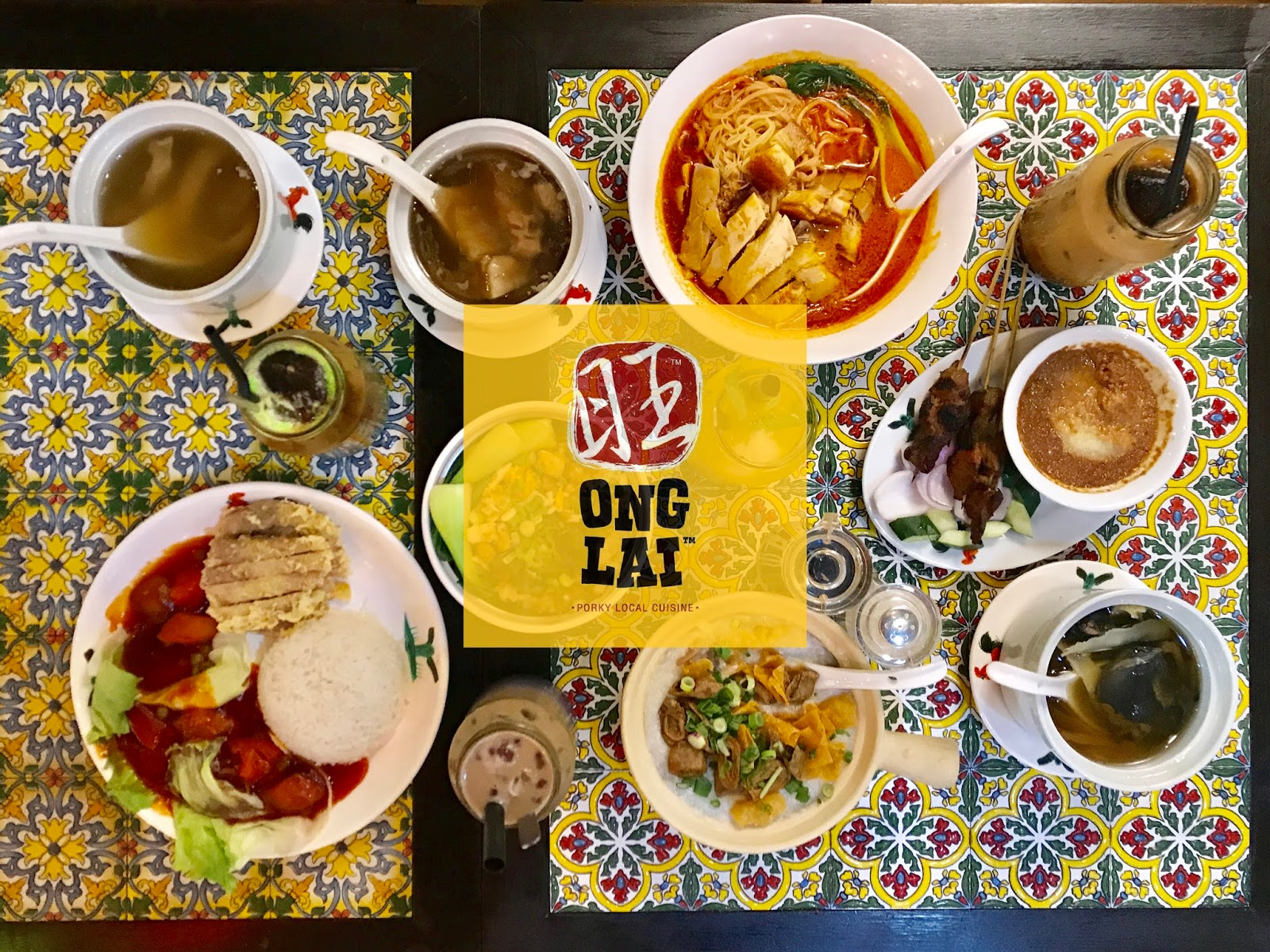 [Food Review] (Non-Halal) Malaysian Favorite Cuisine Ong Lai @ DA MEN Mall