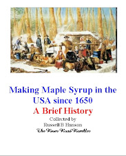 Maple Syruping History