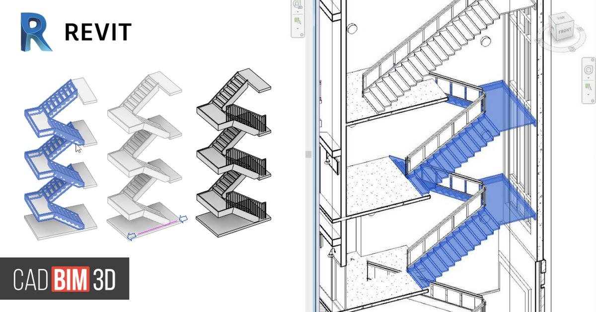 Cómo crear escaleras multiplanta en Revit