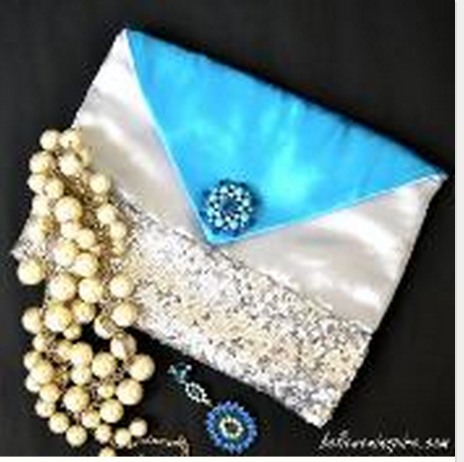 Free Frozen pattern an envelope evening bag inspired by Disney
