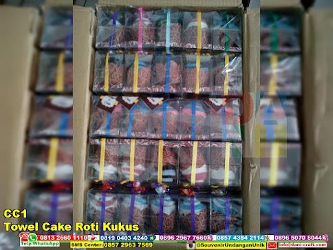jual Towel Cake Roti Kukus