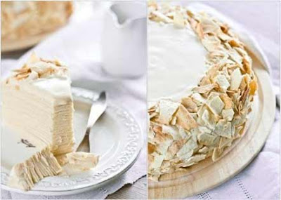 "Торт ""Наполеон"" со сгущенкой"