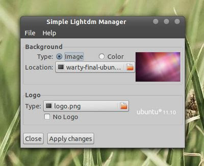 Simple LightDM Manager, Linux, Ubuntu