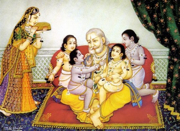 Raja Thatha's stotra translations: Ramanavami Parayanam of  Ramayana-Periyavaa recommendation