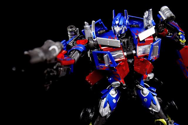 [Transformers] Masterpiece MPM 04 Optimus Prime - x123的創作 - 巴哈姆特