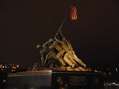 US Marine Corps Memorial Arlington Virginia