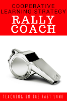 How to complete the cooperative learning structure Rally Coach successfully with your students.