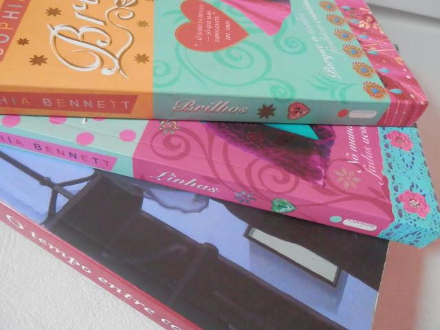 Indicação: 2 livros de romance com tema de moda