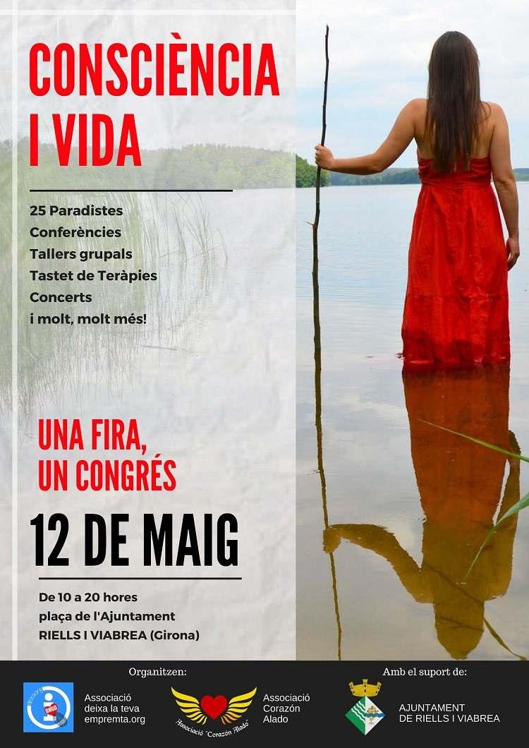 Congrés, Fira a Riells i Viabrea (Girona)  ¡Consciència i Vida!