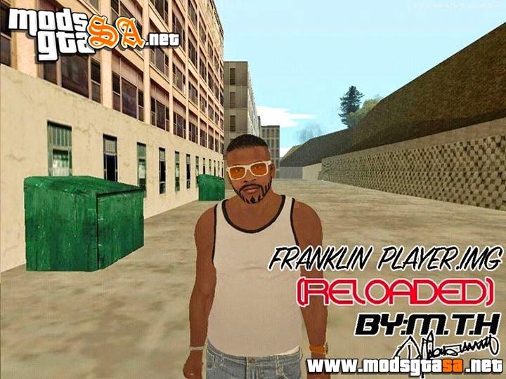 SA - Novo Franklin Player.img (Roupas, Sapatos, Cabelos etc)