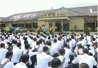 Pendaftaran Anggota Polri di Lampung Selatan Tembus 495 orang